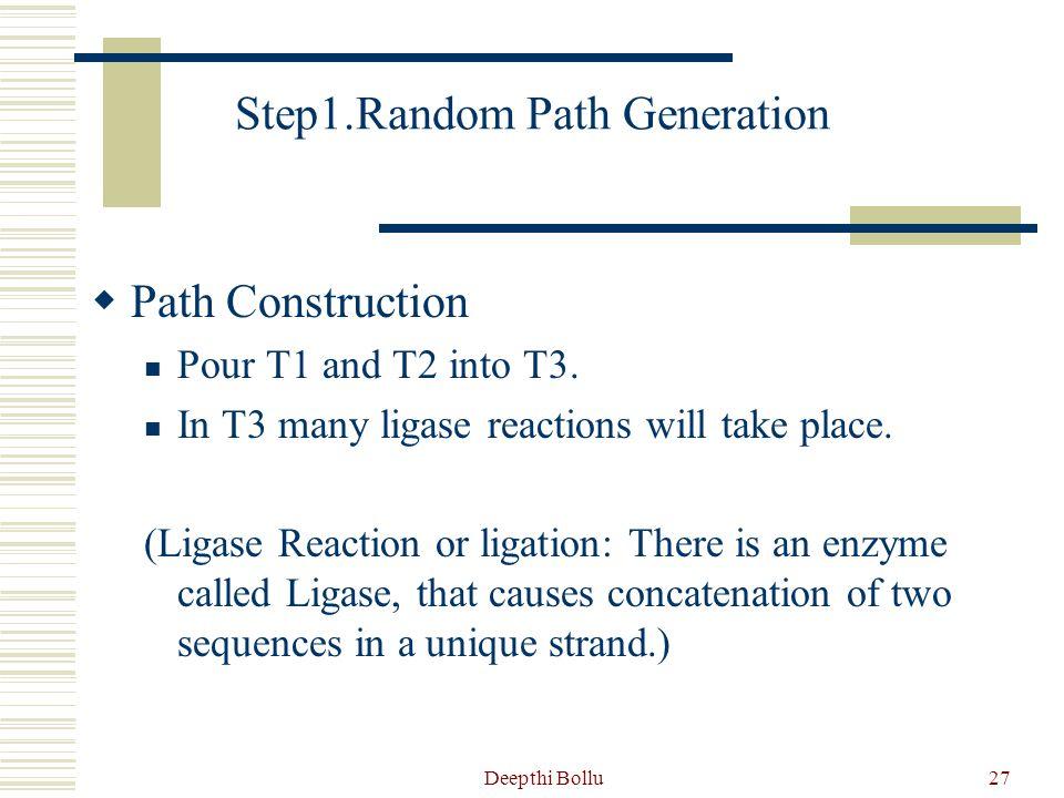 Step1.Random Path Generation