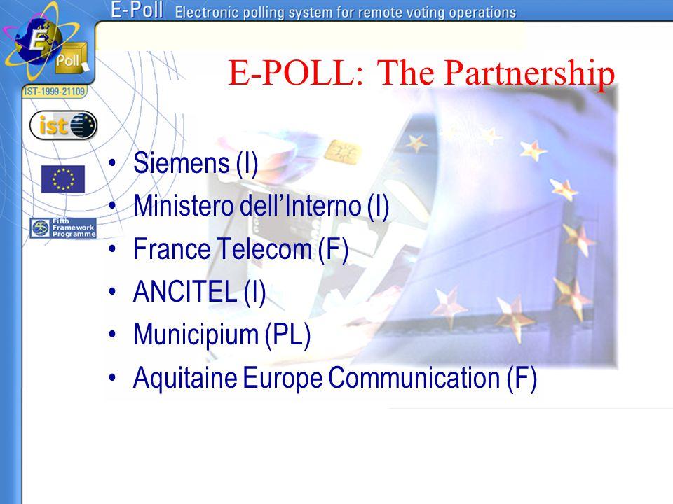 E-POLL: The Partnership