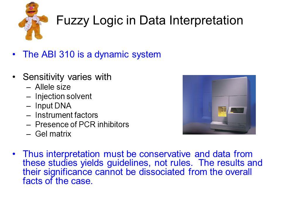 Fuzzy Logic in Data Interpretation