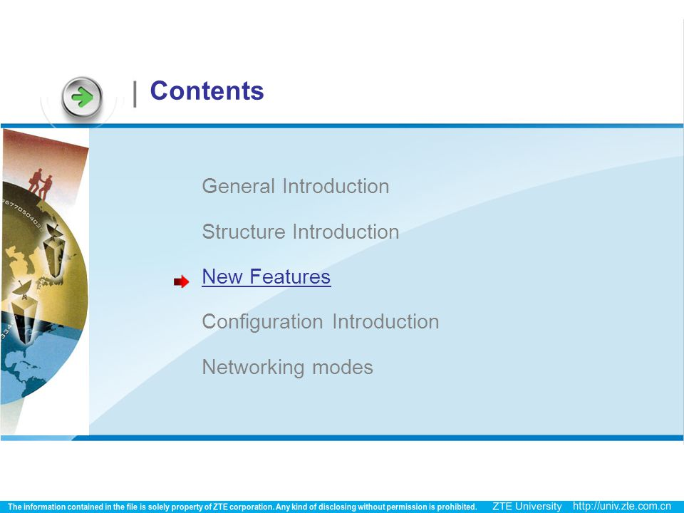 Contents General Introduction Structure Introduction New Features