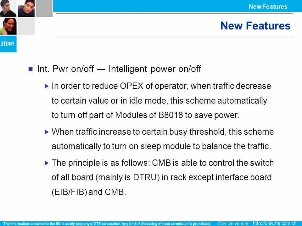 New Features Int. Pwr on/off ― Intelligent power on/off