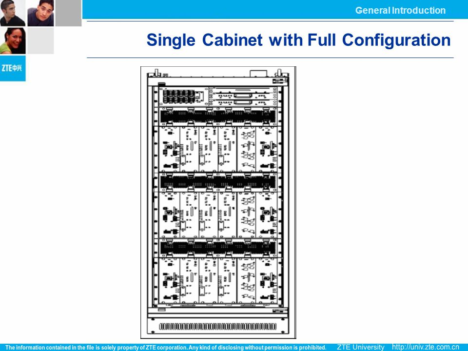 Single Cabinet with Full Configuration