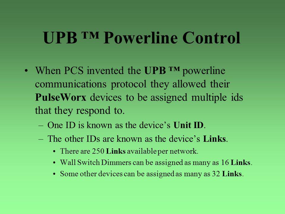 UPB ™ Powerline Control