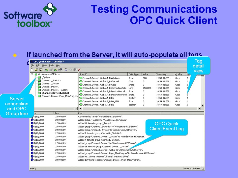 Tips & Tricks Loads of free help at: http://www.toolboxopc.com/html/support.asp. Quick Start Guide.