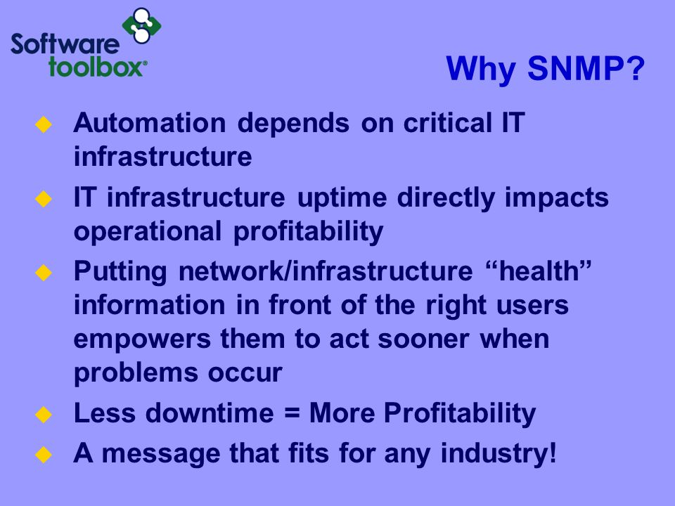 Examples of Information Provided by SNMP