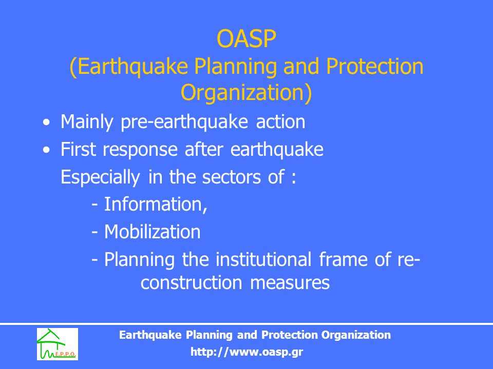 OASP (Earthquake Planning and Protection Organization)
