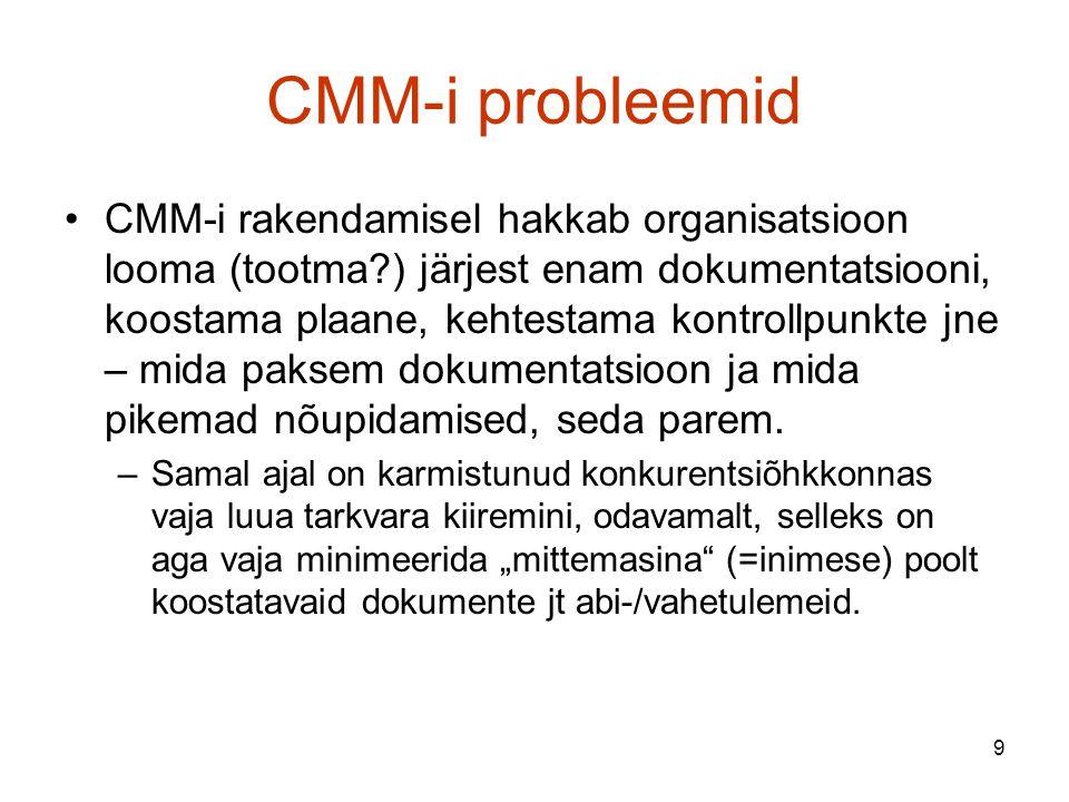 CMM-i probleemid