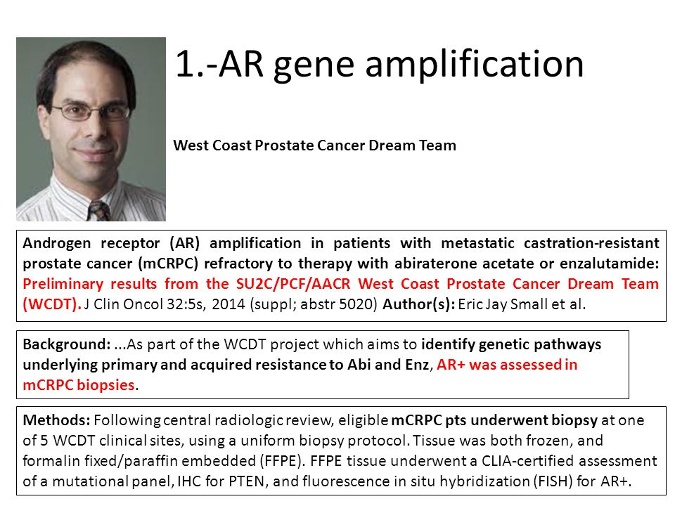 1.-AR gene amplification