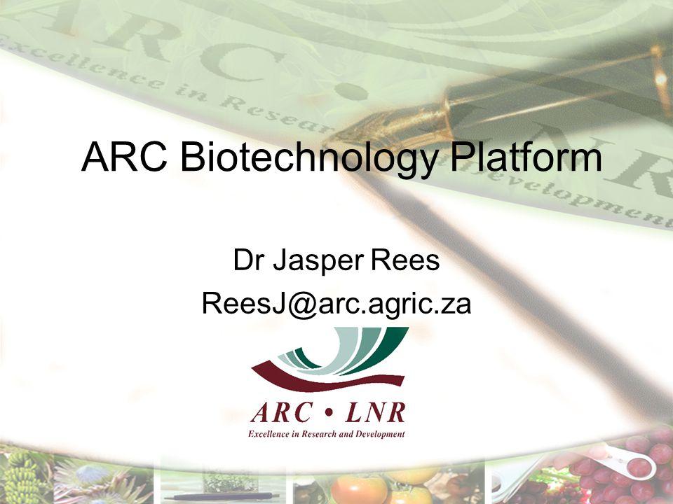 ARC Biotechnology Platform
