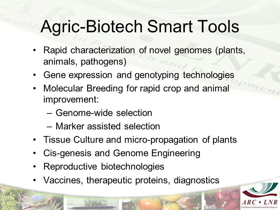 Agric-Biotech Smart Tools