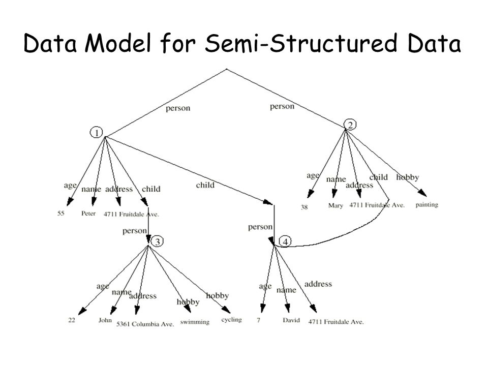 Data Model for Semi-Structured Data
