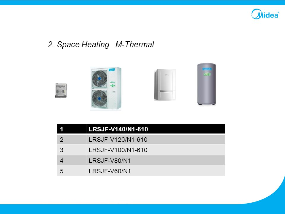 2. Space Heating M-Thermal