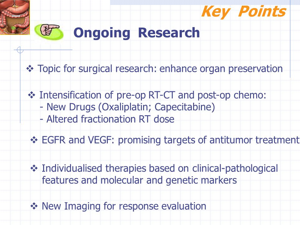 Key Points Ongoing Research