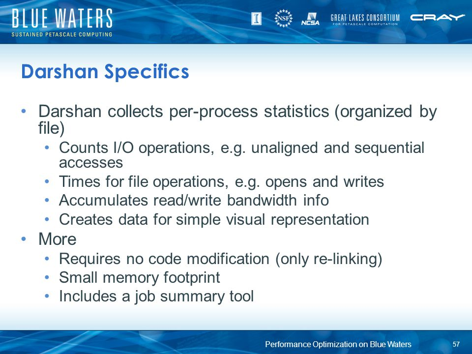 Performance Optimization on Blue Waters