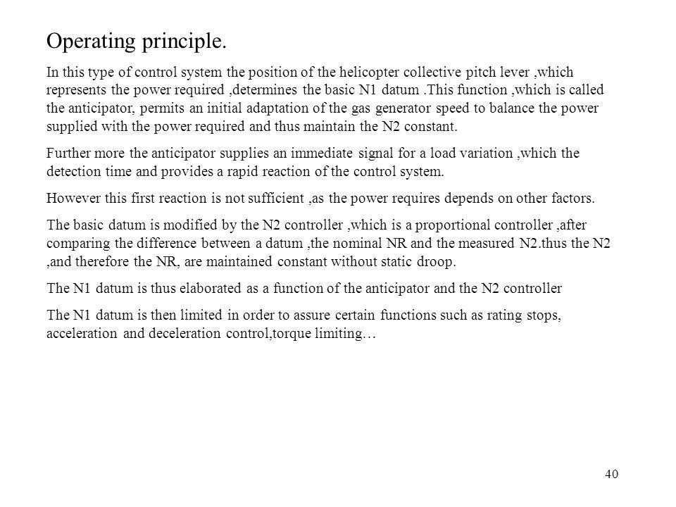 Operating principle.