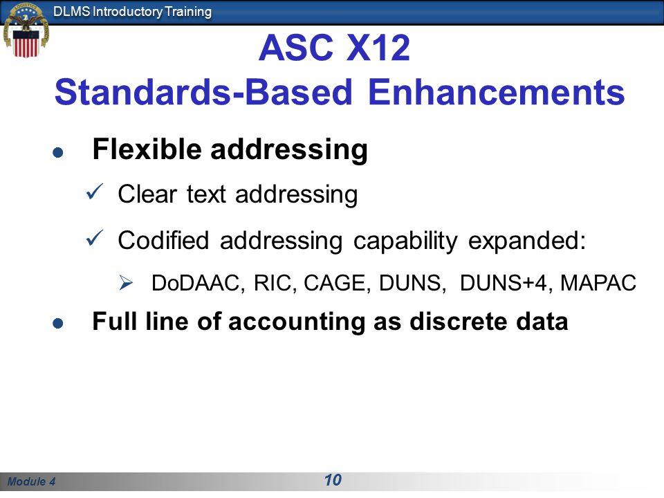 Standards-Based Enhancements