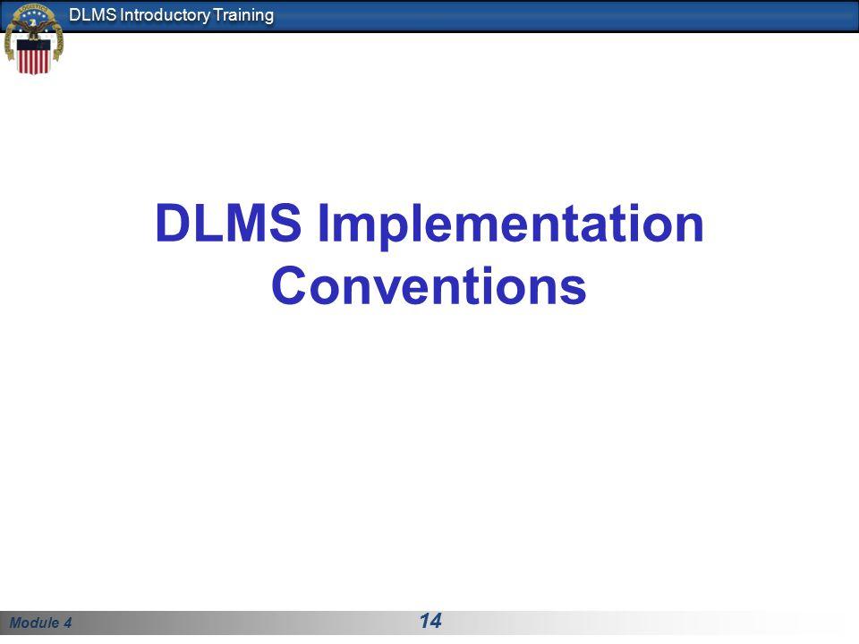 DLMS Implementation Conventions