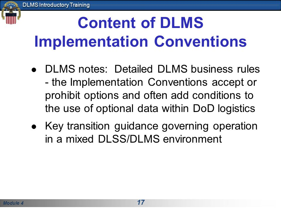 Content of DLMS Implementation Conventions