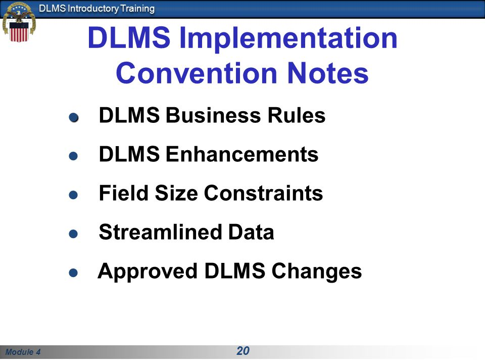 DLMS Implementation Convention Notes