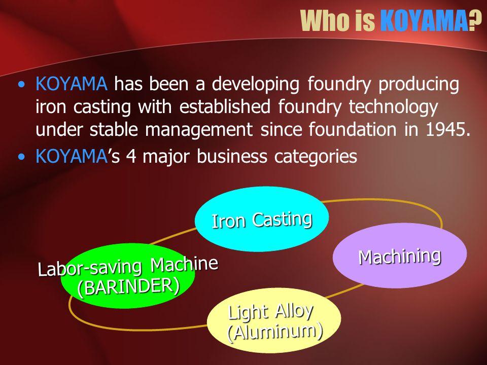 Who is KOYAMA