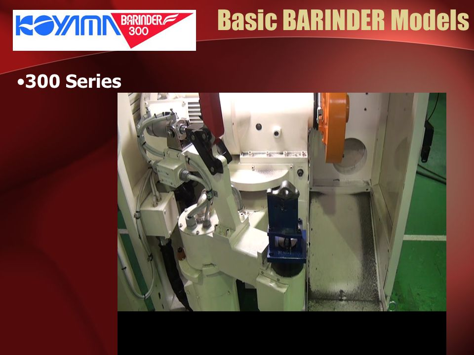 Basic BARINDER Models 300 Series