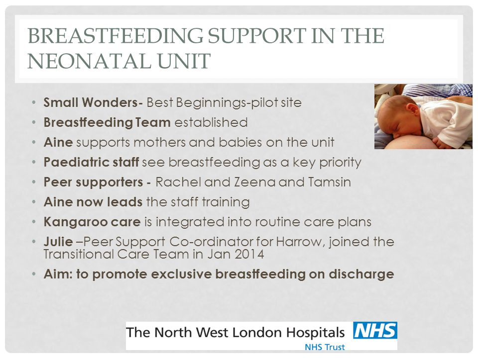Breastfeeding Support in the Neonatal Unit