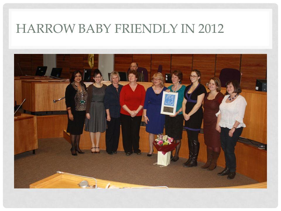 Harrow Baby Friendly in 2012