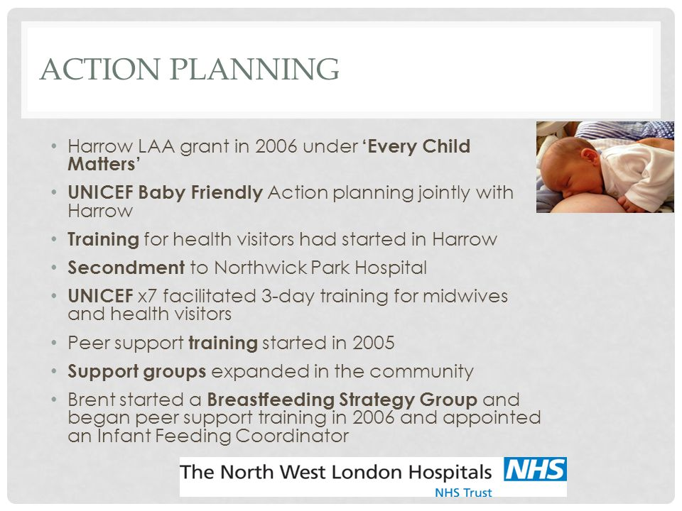 Action Planning Harrow LAA grant in 2006 under 'Every Child Matters'