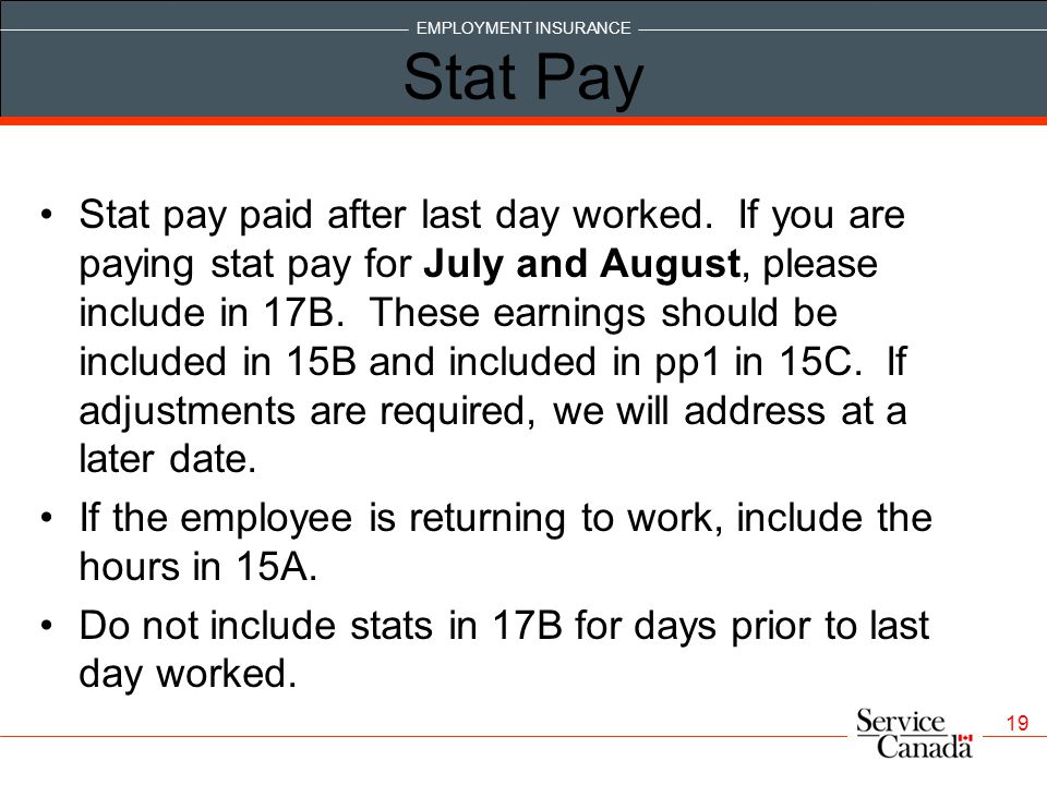 Stat Pay