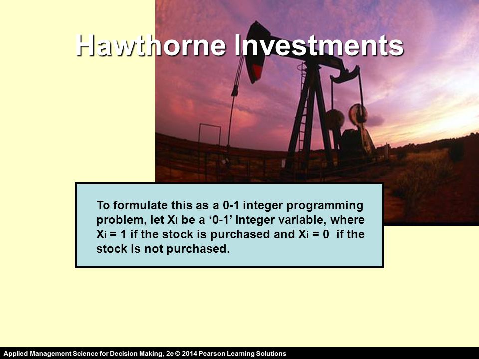 Hawthorne Investments