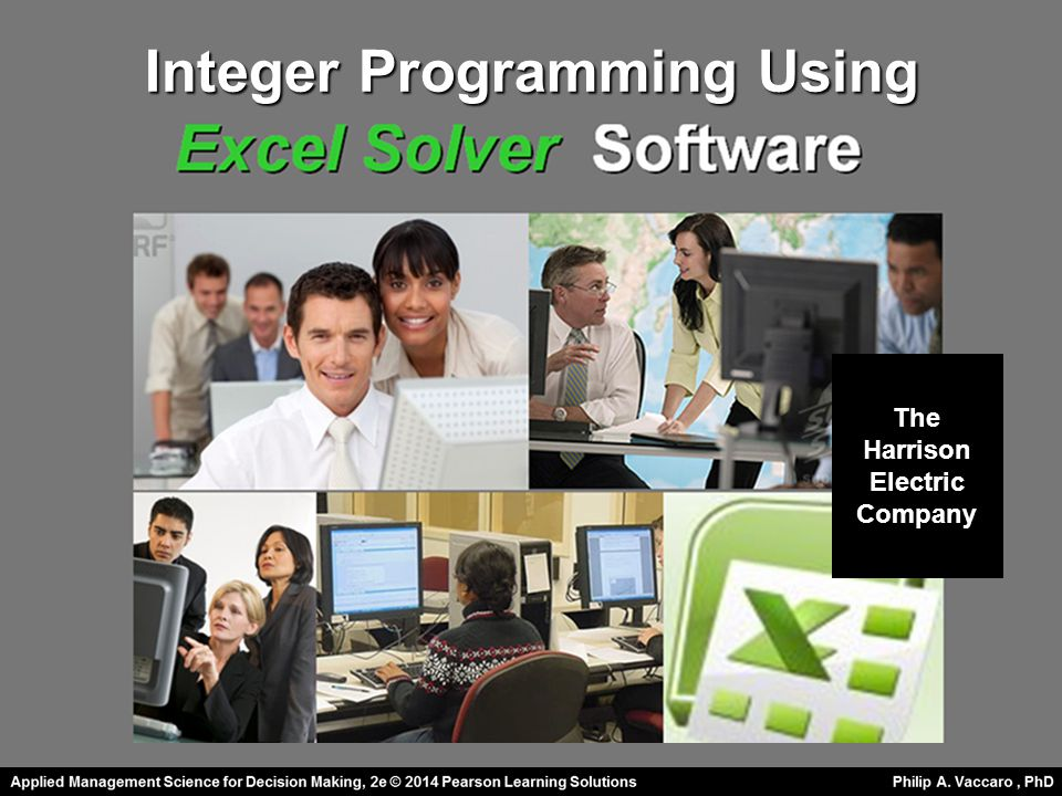 Integer Programming Using