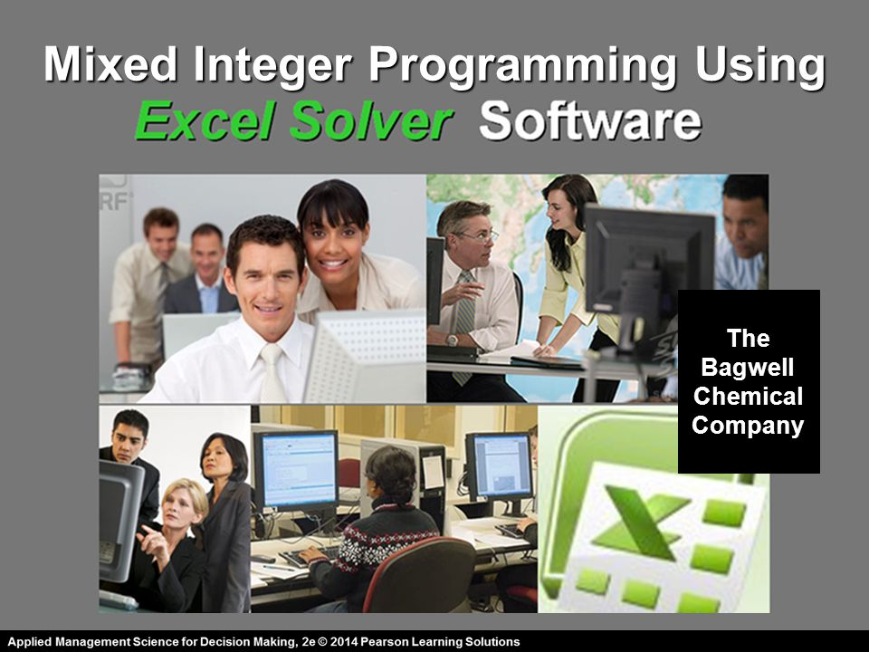 Mixed Integer Programming Using
