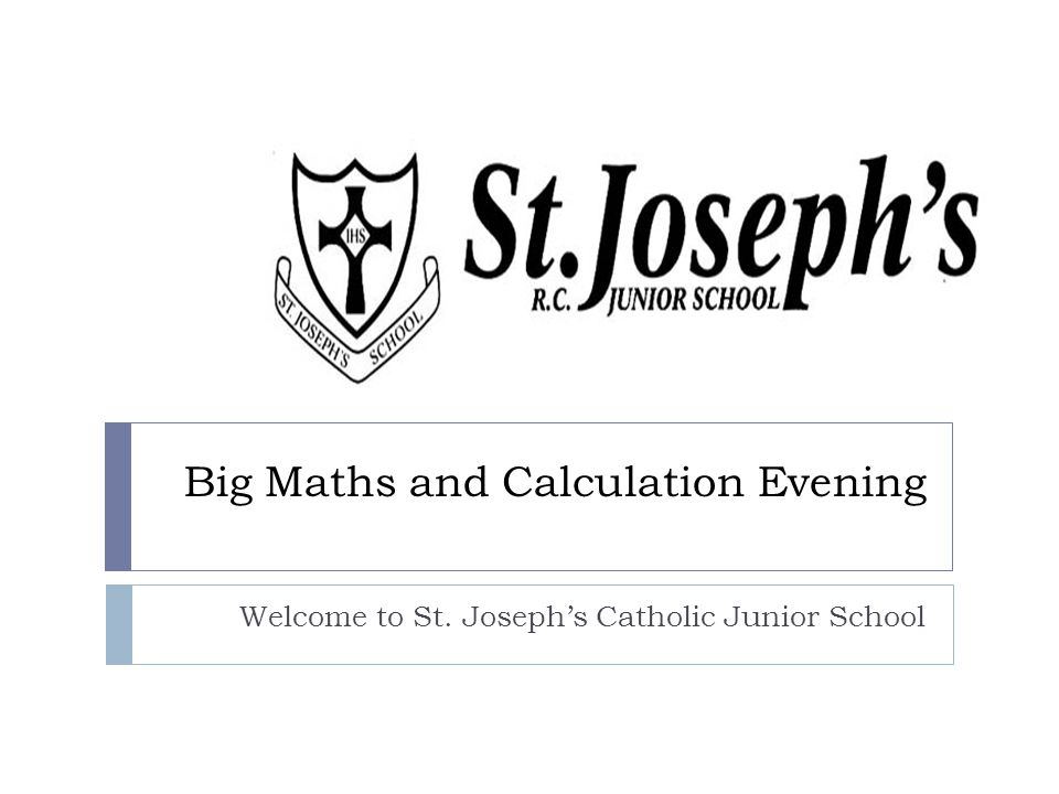 Big Maths and Calculation Evening