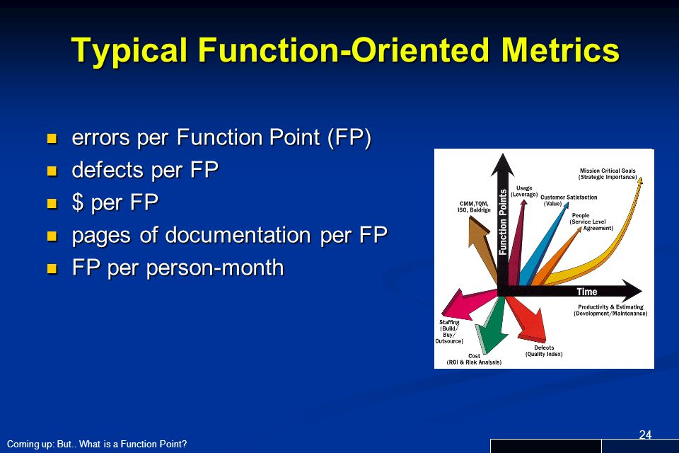 Typical Function-Oriented Metrics