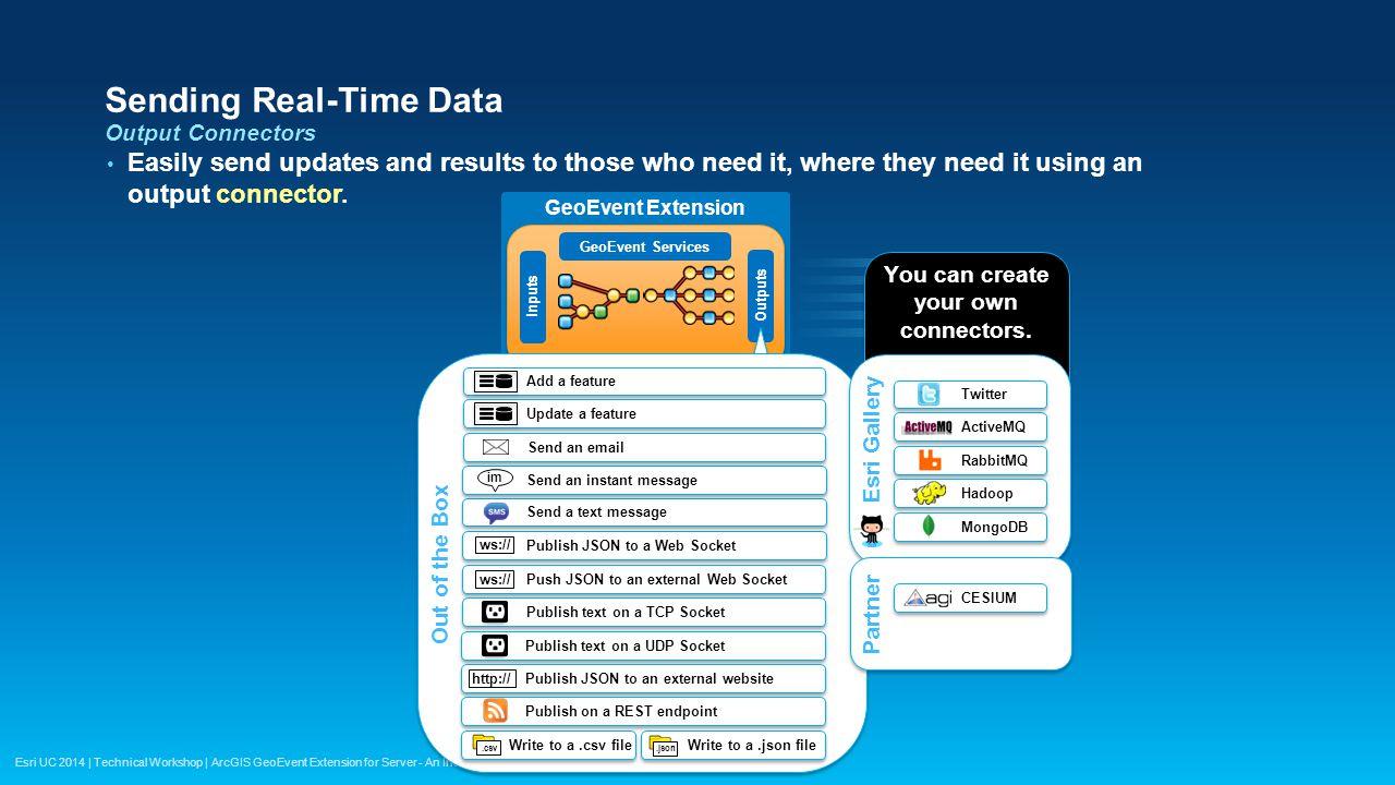 Sending Real-Time Data