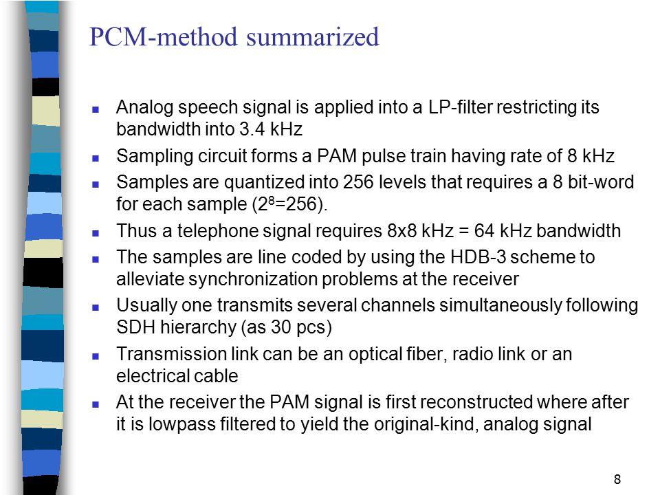 PCM-method summarized