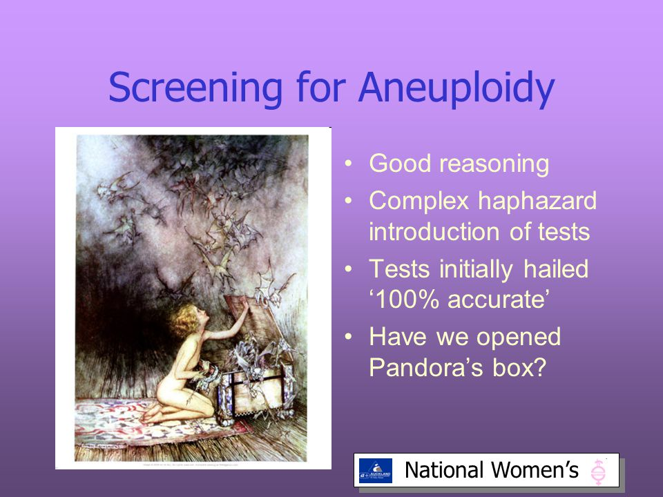 Screening for Aneuploidy
