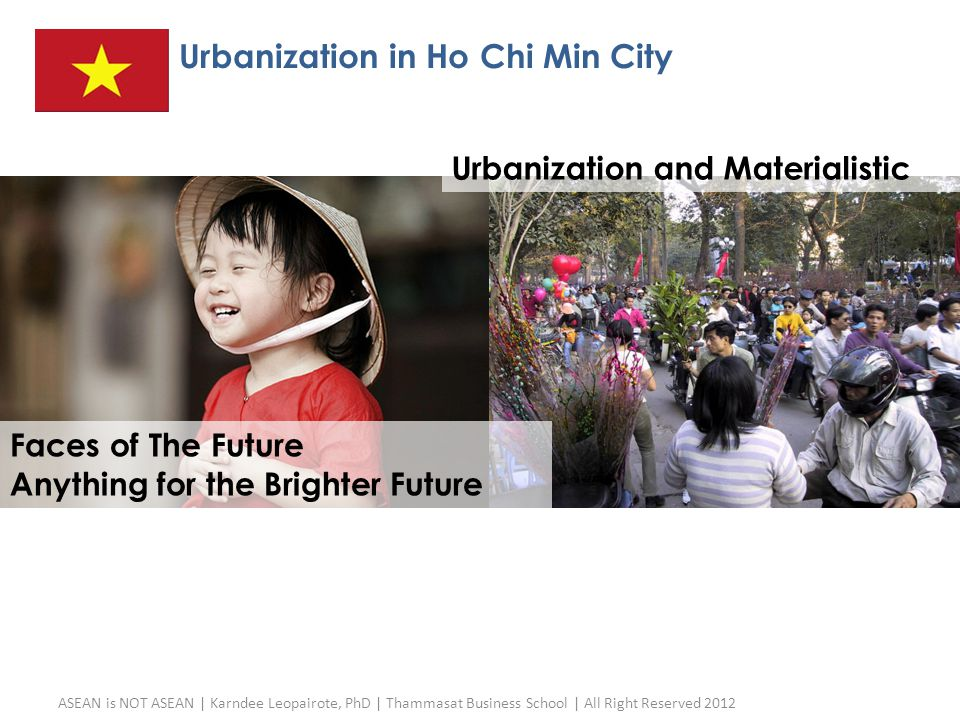 Urbanization in Ho Chi Min City