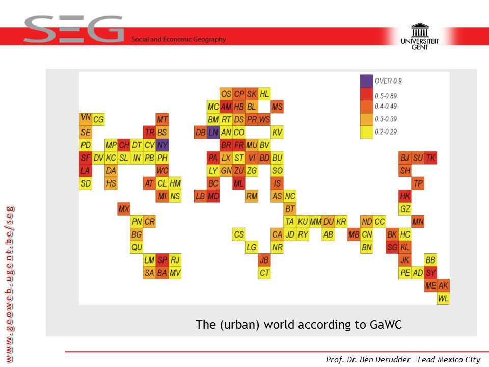 A world of cities the urban age 50 of the world population now 20 the urban world according to gawc gumiabroncs Images