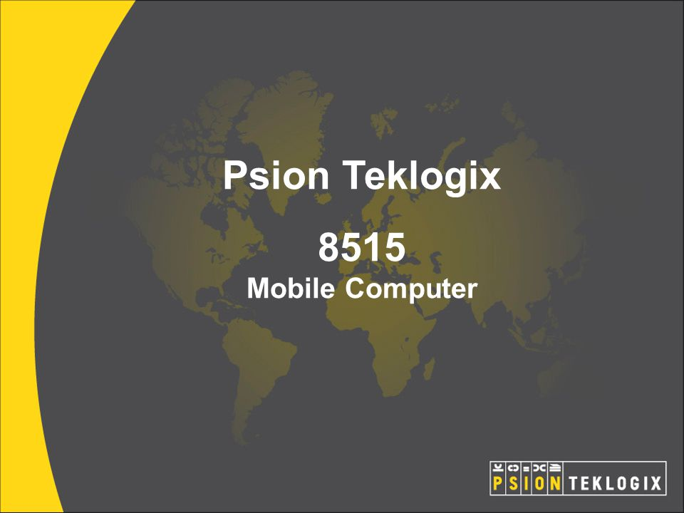 Psion Teklogix 8515 Mobile Computer