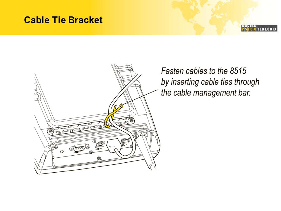 Cable Tie Bracket