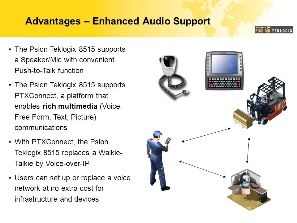 Advantages – Enhanced Audio Support