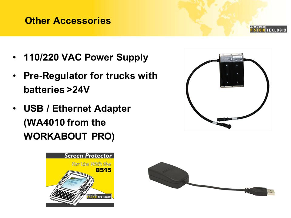Other Accessories 110/220 VAC Power Supply. Pre-Regulator for trucks with batteries >24V.