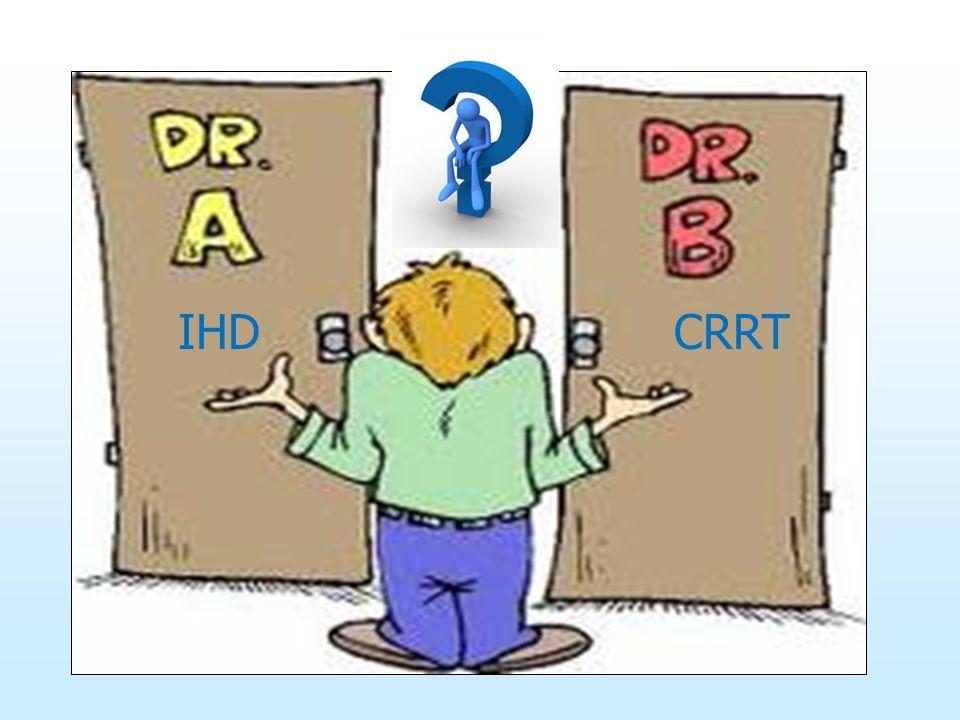 IHD CRRT