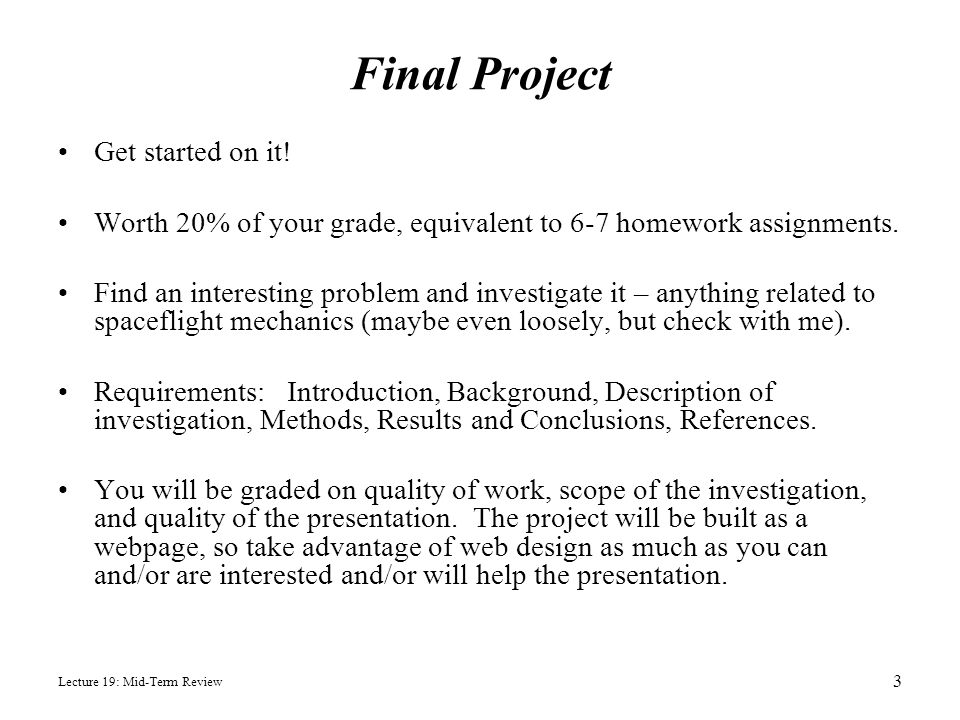 Final Project Get started on it!