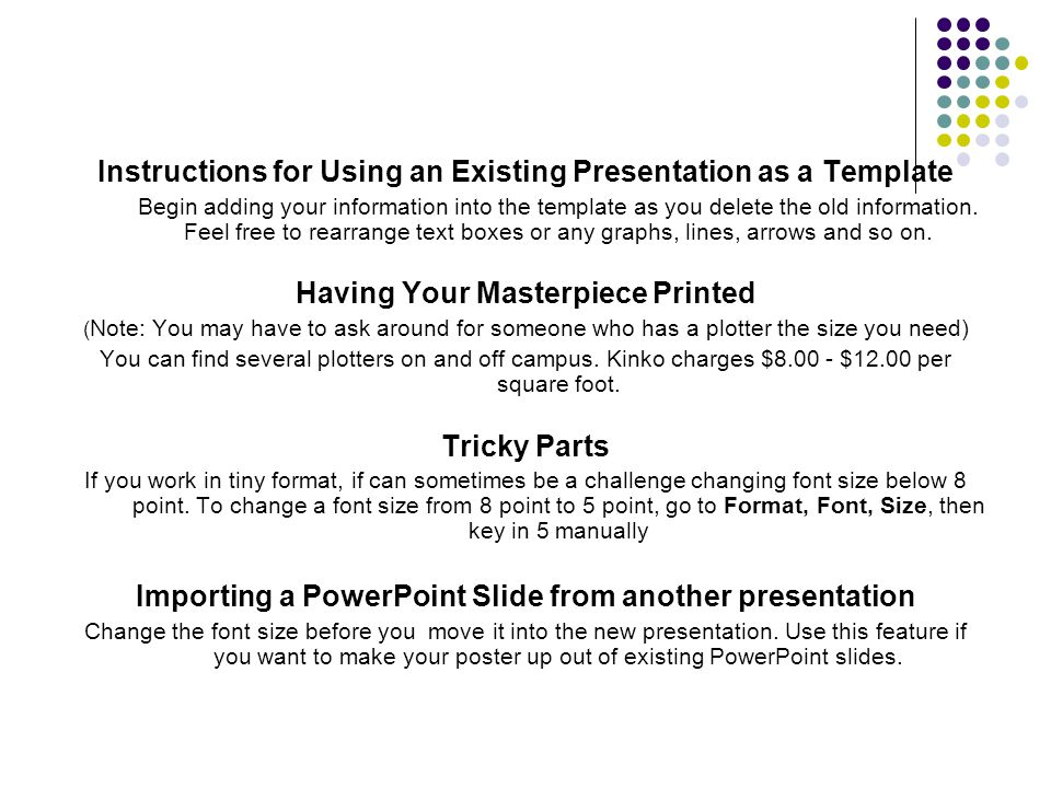 how to apply new powerpoint template to existing presentation, Presentation templates