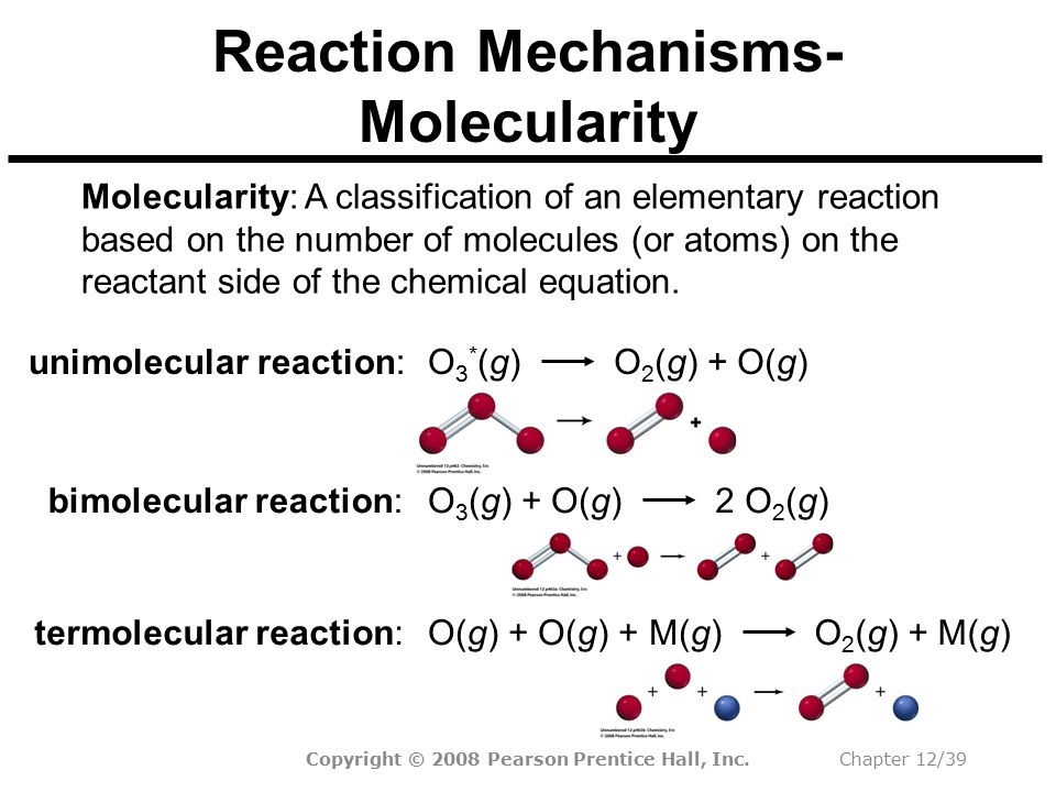 Reaction Mechanisms-Molecularity