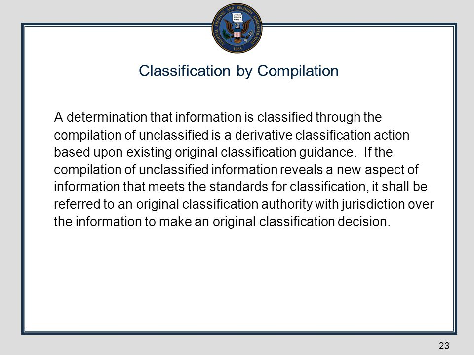 Classification by Compilation