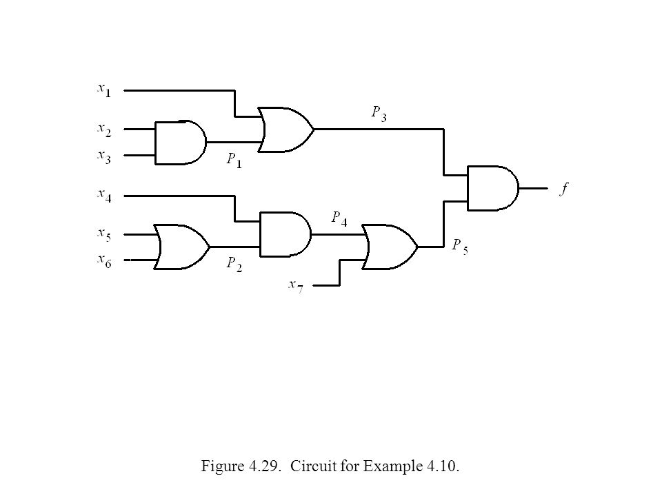 Figure 4.29. Circuit for Example 4.10.
