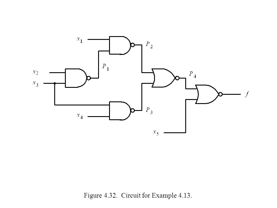 Figure 4.32. Circuit for Example 4.13.